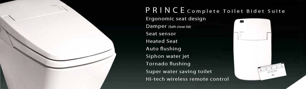 luxury eco bidet prince