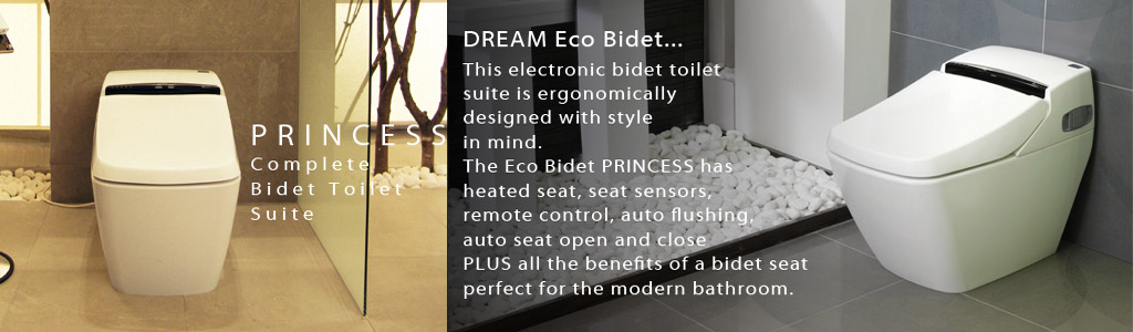 luxury eco bidet princess
