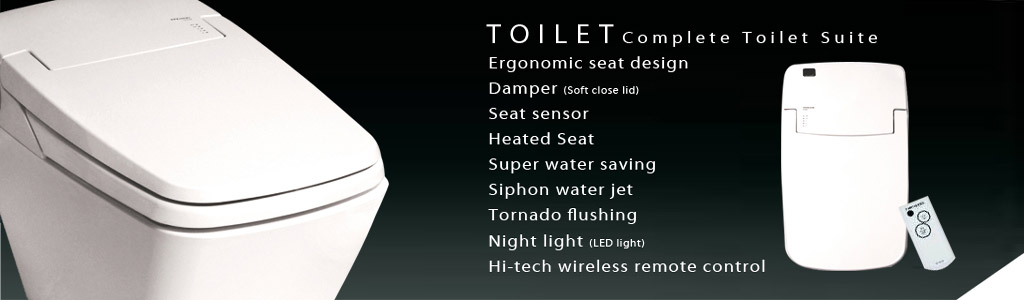 luxury eco bidet toilet