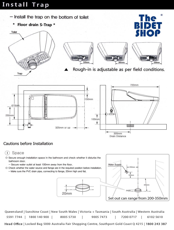 Installation Coway Eco Bidet Luxury Bidet Store
